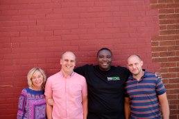 (l-r) Michele, Shane, Calvin, Joe Photo by M.Ashlee